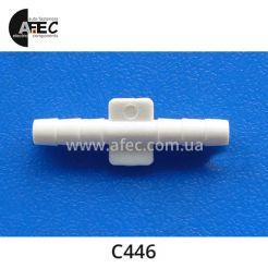 Пластиковый соединитель трубок d4.0 GM Ford Chrysler 14047034 383000 4095145
