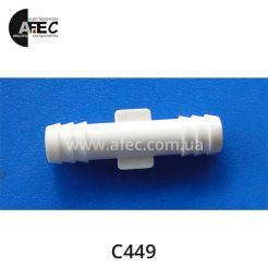 Пластиковый соединитель трубок d10.4 GM Chrysler 22505958 4201198
