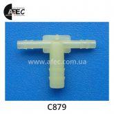 Пластиковый соединитель d3.3/3.3/6.0 GM 1610403