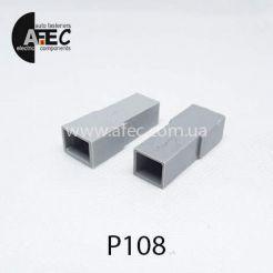 Автомобильный разъём штыревой 1-о контактный аналог TE 480053-3 серии 6,3мм