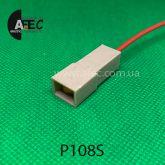 Автомобильный разъём штыревой 1-о контактный аналог TE 4800533 серии 6,3мм с проводом
