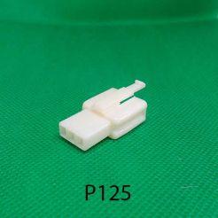 Мото разъём штыревой 3-х контактный серии 2,8мм