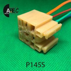Разъем реле ВАЗ 2110 5-ти контактный с проводом