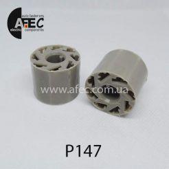 Автомобильный разъём гнездовой 8-и контактный серии 6,3мм для кнопки аварийки ВАЗ 2101 2107