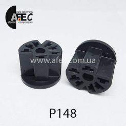Автомобильный разъём гнездовой 7-и контактный серии 6,3мм для регулятора отопителя ВАЗ 2101 2107