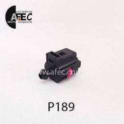 Автомобильный разъём герметичный гнездовой 1-но контактный аналог WAG 1J0 973 081 серии 1.5мм