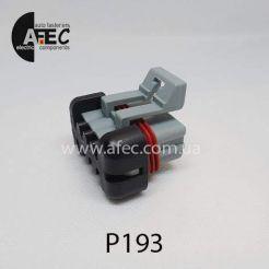 Автомобильный разъём герметичный гнездовой 5-ти контактный аналог Delphi 12052600 серии 1.5мм для жгута форсунок ВАЗ