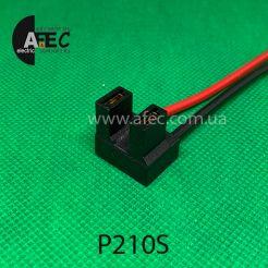 Автомобильный разъём гнездовой 2-х контактный серии 6,3мм для ламп H7 с проводом