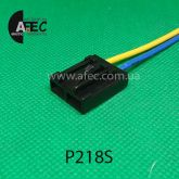 Разъем 2-х контактный  бензонасоса ВАЗ