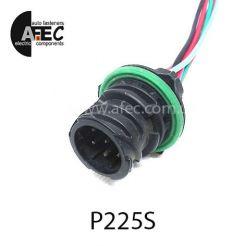 Автомобильный разъём байонетный герметичный штыревой 7-ми контактный аналог TE 1718230-1 серии 1.5 с проводом