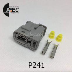 Авто разъём гнездовой 2-х контактный KET MG642273 серии 2,2мм для катушки зажигания Hyundai Elantra XD 1.8L