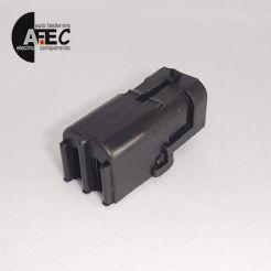 Автомобильный разъём герметичный штыревой 4-х контактный аналог Delphi 12015024 WEATHER-PACK серии 2,5мм для жгута бензонасоса датчика кислорода ВАЗ
