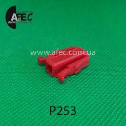 Автомобильный разъём гнездовой 1-но контактный аналог VAG 191972701 TE серии 2,8мм