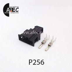 Автомобильный разъём штыревой 2-х контактный аналог  VAG 191972712 AMP 19295961 серии 2,8мм