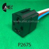 Разъем реле 70А 4-х контактный с проводом