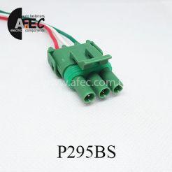 Автомобильный разъём герметичный штыревой 3-х контактный аналог Delphi 12020403 серии 2,5мм для датчика абсолютного давления Ланос 1.5 с проводом