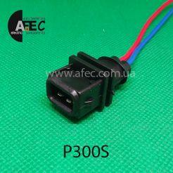 Авто разъём штыревой 2-х контактный WAG 8D0971946 Bosch 1928402448 серии 2,8мм ответеая часть для P180S с проводом
