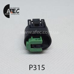 Авто разъем 2-х контактный аналог TE 1-967644-1