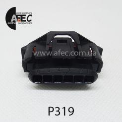Авто разъём гнездовой 6-ти контактный серии 3,5 мм аналог TE 936394-2