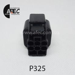 Авто разъём гнездовой 6-ти контактный аналог KUM PB625-06027