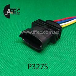 Авто разъём герметичный штыревой 4-х контактный серии 3,5мм аналог Bosch 1 928 403 453 для  датчика кислорода (Siemens) с проводом