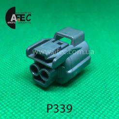 Авто разъём гнездовой 2-х контактный аналог SUMITOMO 6189-0129