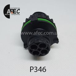 Разъем штыревой 4-х контактный аналог TE 1-967402-1