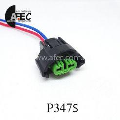 Автомобильный разъем гнездовой 2-х контактный серии 2,8мм аналог SUMITOMO 6189-0935 для автоламп H8 с проводом