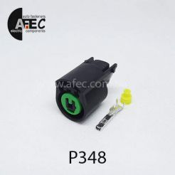 Автомобильный разъём герметичный гнездовой 1-но контактный аналог KUM PB625-01027