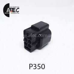 Автомобильный разъём герметичный гнездовой 4-х контактный аналог KUM PB625-04027