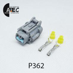Автомобильный разъём герметичный гнездовой 2-х контактный аналог   SUMITOMO 6185-0867 6918-1774 серии 2мм