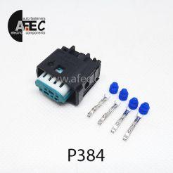 Авто разъем генздовой 4х контактный аналог АМР 1-967640-1 MICRO QUADLOK