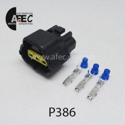 Авто разъем генздовой 3х контактный аналог AMP174357-2 ECONOSEAL
