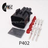 Авто разъём герметичный штыревой 6-ти контактный аналог KUM PB621-06020