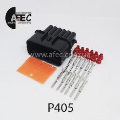 Авто разъём герметичный штыревой 12-ти контактный аналог KUM PB621-12020