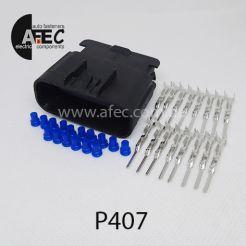 Авто разъём герметичный штыревой 16-ти контактный аналог Delphi 15326868
