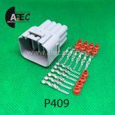 Авто разъём герметичный штыревой 12-ти контактный аналог Sumitomo 6188-0375