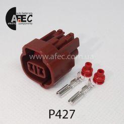 Автомобильный разъём герметичный гнездовой 2-х контактный серии 2,0 мм аналог SUMITOMO 6189-0033