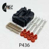 Автомобильный разъём герметичный гнездовой 8-ми контактный серии 2,0 мм аналог YAZAKI  7123-7484-40