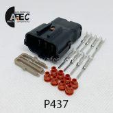 Автомобильный разъём герметичный штыревой 8-ми контактный серии 2,0 мм аналог YAZAKI  7222-7484-40