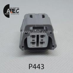 Разъем 4-х контактный гнездовой аналог Sumitomo 6189-0126 Toyota 90980-10942