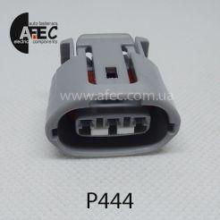 Разъем 3-х контактный гнездовой аналог Sumitomo 6189-0443 Toyota 90980-11349