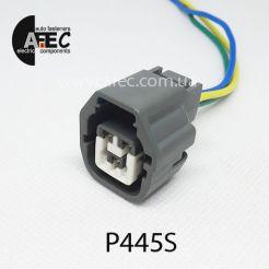 Авто разъем 3-х контактный гнездовой серии 2мм аналог KET MG641362-5 с проводом