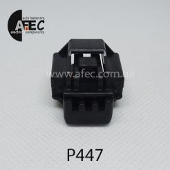 Разъем 3-х контактный гнездовой аналог YAZAKI 7223-6536-30