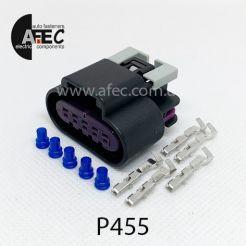 Авто разъем 5-ти контактный гнездовой аналог DELPHI 15326822 AC Delco PT1555 GM 88953146