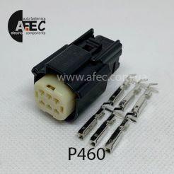 Авто разъем 6-ти контактный гнездовой аналог Molex 33472-0601