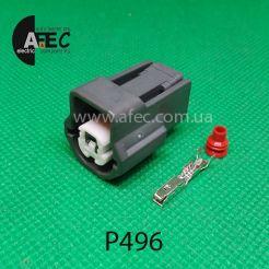 Автомобильный разъём герметичный гнездовой 1-но контактный аналог Sumitomo 6189-0476