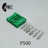 Автомобильный разъём гнездовой 6-ти контактный аналог MOLEX 98821-1065