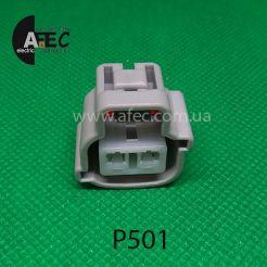 Автомобильный разъём гнездовой 2-х контактный аналог Sumitomo 6189-0175