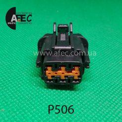 Автомобильный разъём гнездовой 6-ти контактный аналог Sumitomo 6185-1173 KUM PB295-06020